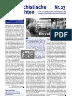 antifaschistische nachrichten 2006 #23