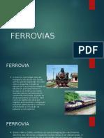 Ferrovias - Slides