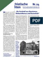 antifaschistische nachrichten 2006 #24