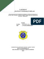 PTK BAHASA INDONESIA SMA KELAS XII