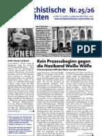antifaschistische nachrichten 2006 #25