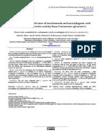 New secoiridoid ester of swertiamarin and secoxyloganic acid   with hepatoprotective activity from Centaurium spicatum L.