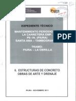 6 - Estudio de Estructuras de Concreto, Obras de Arte y Dren (1).pdf