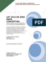 Ley 1014 de 2006 Mapa Conceptual