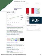 Esperenza de Vida en Peru - Buscar Con Google
