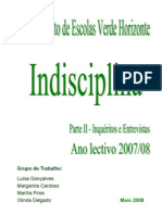 Análise - indisciplina - 2ª fase