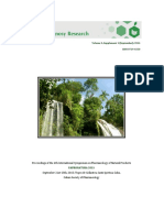 Proceedings of the 4th International Symposium on Pharmacology of Natural Products FAPRONATURA 2015