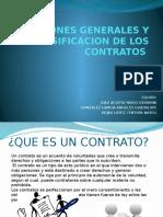 Nociones Generales y Clasificacion de Los Contratos