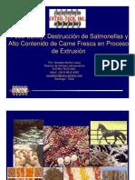 Food Safety, Destrucción de Salmonellas y Alto Contenido de Carne Fresca en Proceso de Extrusión - Osvaldo Muñoz