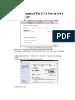 Cara mengatasi The DNS Server Isn.docx