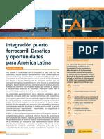Integración Puerto Ferrocarril_Desafíos y Oportunidades Para LATAM