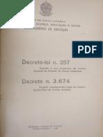 Decreto 3.647 - 1946, SC.