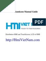 Samkoon HMI User Manual [HmiVietNam.com]