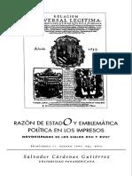RAZÓN DE ESTADO Y EMBLEMÁTICA SalvadorCardenasGutierrez.pdf