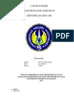Laporan Praktikum Arus Air