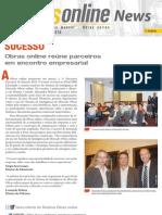 Informativo Obras online - Abril