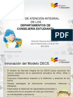 4. Presentación Modelo DECE