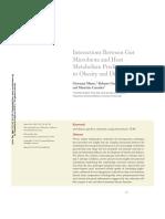 Microbiota intestinal Obesidad y Diabetes