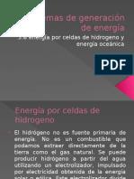 3.6 Energia Por Celdas de Hidrogeno y Energia Oceanica