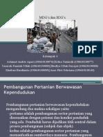 SDG's MDG's
