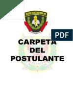Carpeta Del Postulante ETS 2012