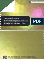 2015.10.22 Penjelasan Jaminan Pensiun BPJS Ketenagakerjaan JHT