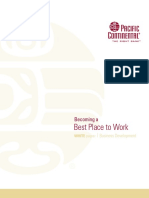White Paper Becoming Best Place to Work