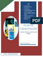 Plan de Capacitación Tapa