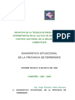 Diagnostico Situacional Provincia Ferrenafe-