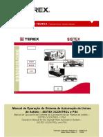 Manual Controles planta asfalto terex 140