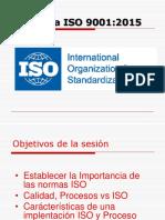 Unidad 1.3 - Gestion Por Procesos-IsO v 2015