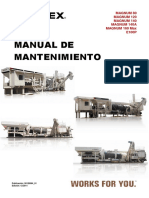 Manual Mantenimiento PLANTA ASFALTO TEREX 140