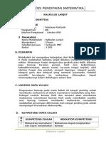 SAP Kalkulus Lanjut 2