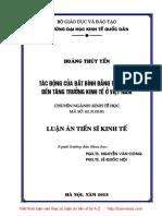 LA01.002_Tác động của bất bình đẳng thu nhập đến tăng trưởng kinh tế ở Việt Nam