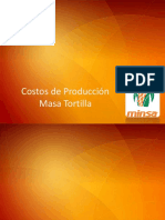Costos de Produccion _ Tortillas
