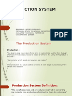 Production System Presentasi