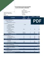 Costos de Producción Avena Forrajera Semimecanizado