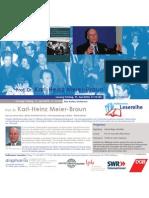 Prof. Dr. Karl-Heinz Meier-Braun liest in der Heilbronner Lesereihe