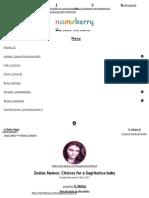 Zodiac Names_ Choices for a Sagittarius baby – Baby Name Blog - Nameberry.pdf