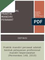 Aspek Legal Dan Praktik Mandiri