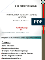 1Introduction to Remote Sensing1