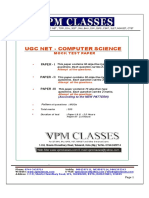 Ugc Net_computer Science_free Solved Paper_english Version