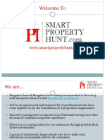 Real Estate Smart property hunt in Bangalore.