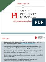 Real Estate Smart property hunt in Bangalore.