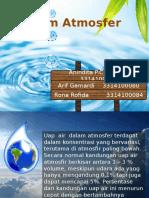 Reaksi Air Di Atmosfer