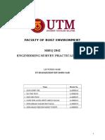 Engineering Survey Complete