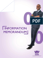 Imperial Bank Capital Raise Information Memorandum