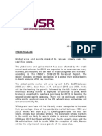 The IWSRs Forecast Report Press Release