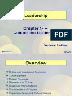 Leadershipoand Culture
