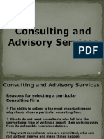 Session-5 Reasons for Selecting a Particular Consulting Firm